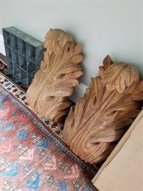 Carved Wooden Architectural Details