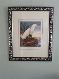 Framed Water Fowl