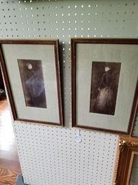 Pair of Framed Photographs