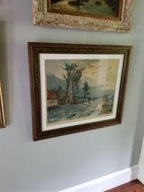 Several Pieces of Original Art