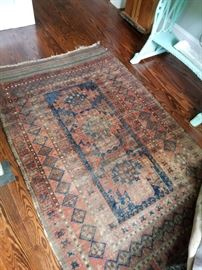 Several Antique Rugs