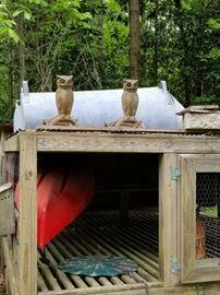 Owl Fire Dogs