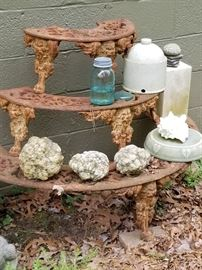 Plant Stand, Mason Jars