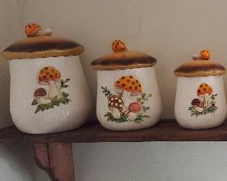 Sears Robuck Merry Mushroom set.