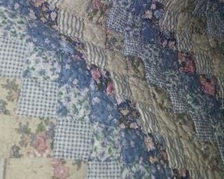 1 of 2 handmade quilts
