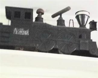 Large plastic train