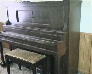 Unique vintage upright, great for den or man cave