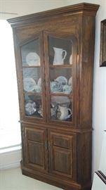 Beautiful Ethan Allen Corner cabinet.