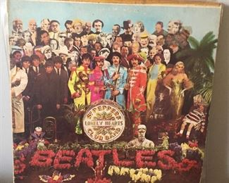 Beatles St Peppers Lonely Hearts Club LP