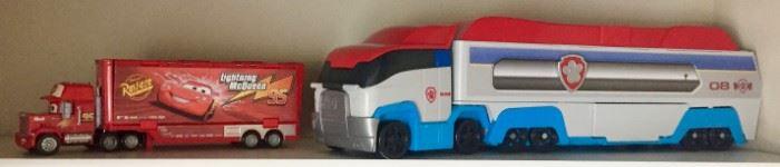 Semi Truck Toys