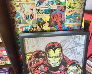 Marvel Comic Prints