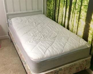 Twin Mattress, Boxsprings and Headboard