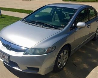 2010 Honda Civic, 112,000 Miles