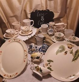 Americana dishware from the 30's, 40's and 50's