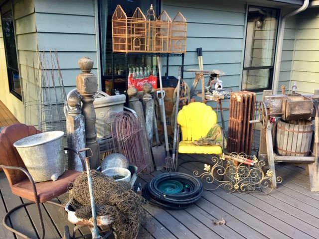 Funky garden items