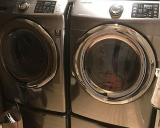 SAMSUNG WASHER AND DRYER -ONLY 2 YEARS OLD