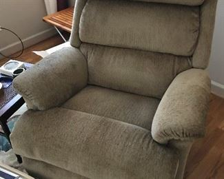 Upholstered Recliner $ 100.00