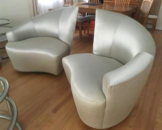 "modern ""twist"" chairs"