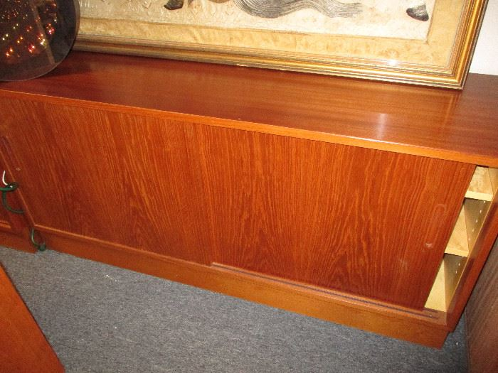 """Made in Denmark credenza 54 1/2"""" long, 17"""" deep and 26"""" high"""