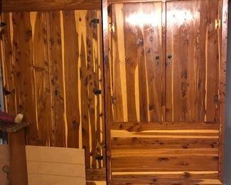 Cedar Cabinet & Armoire