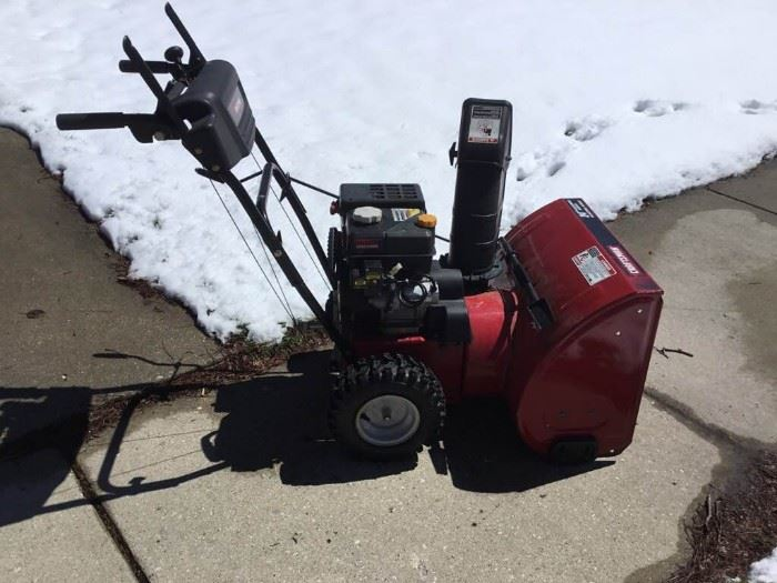 Craftsman 24 Snowblower with Electric Start
