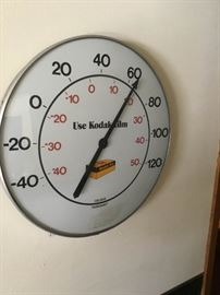 Vintage Kodak Thermometer