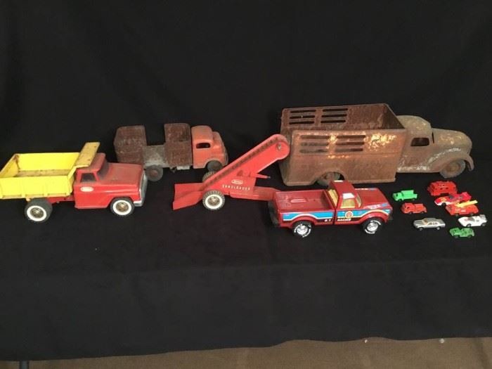 Vintage Metal Toys
