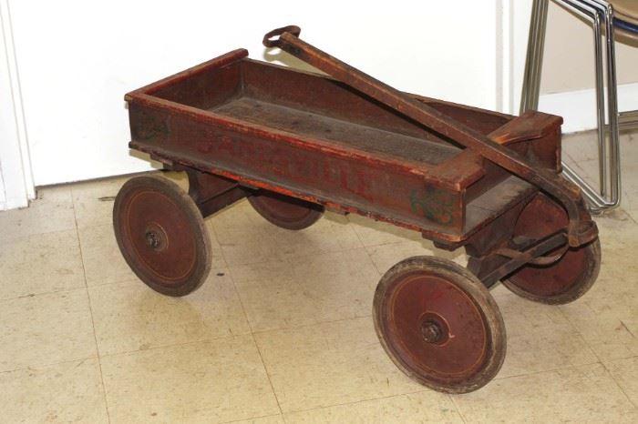 Antique Janesville scuttle car