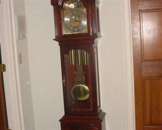 Incredible grandfather clock..beautiful chimes