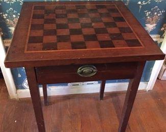 Checkerboard Table.