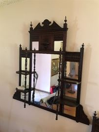 Antique Victorian Eastlake Mirror