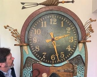 Richard Dunbrack, the Dr. Seuss of Marthas Vinyard, Grandfather Clock