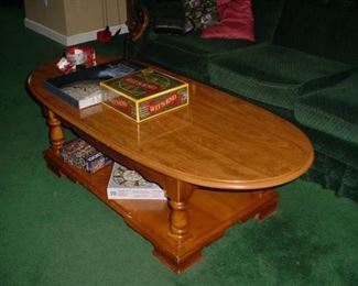 Nice maple coffee table