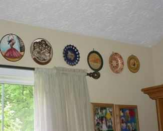 MANY collectible plates