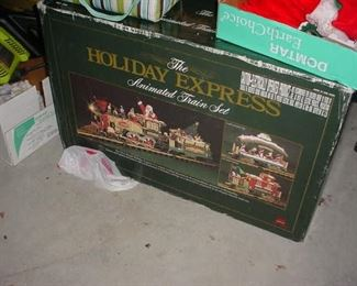 Full set of the Holiday express
