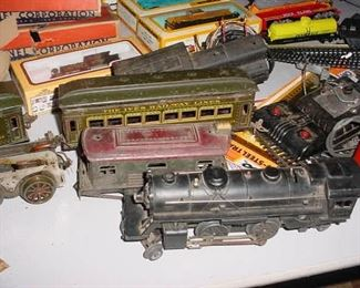 OLD Lionel and Ives trains, and accessories