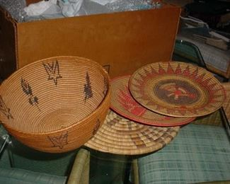 Apache & Pima baskets