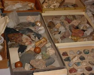 LARGE rock and stone collection from all over the world