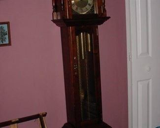 Wonderful small grandfather clock