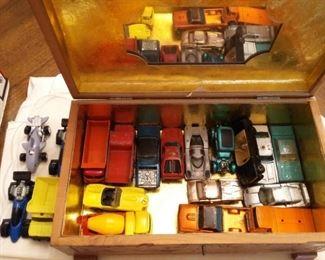 Mattel Tootsie Case & Cars (some Redline)