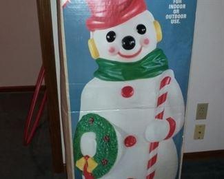 Snowman BlowMold