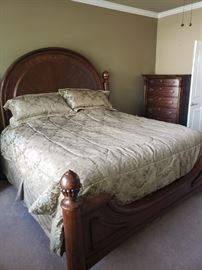 Almost New King Bedroom Set- $6,000 retail
