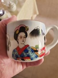 Neat old cup from Japan