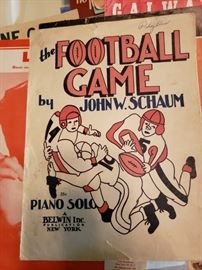 Some of the neatest old sheet music I have seen