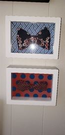framed bow ties