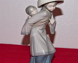 Lladro Asian Figurine
