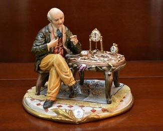 Capodimonte Porcelain Figurines (Highly Detailed)