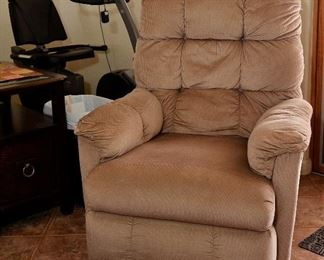 ANOTHER LA-Z-BOY RECLINER AND MORE EXERCISE EQUIPMENT.