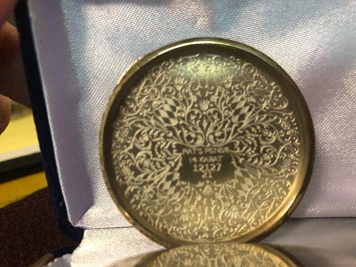 14 karat antique Elgin pocket watch