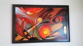 BOLD Beautiful Oil on Canvas